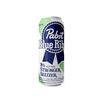 Pabst Blue Ribbon Stronger Seltzer Lime
