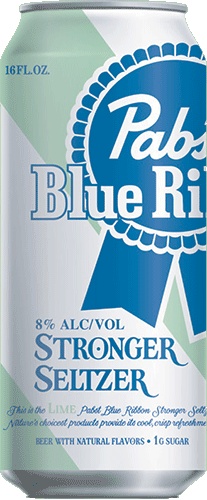 Pabst Blue Ribbon Stronger Seltzer Lime