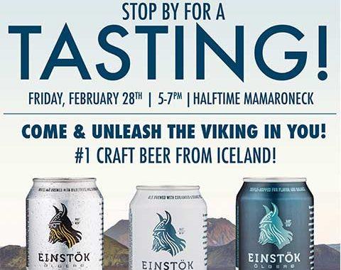 Einstok Icelandic Beer Tasting