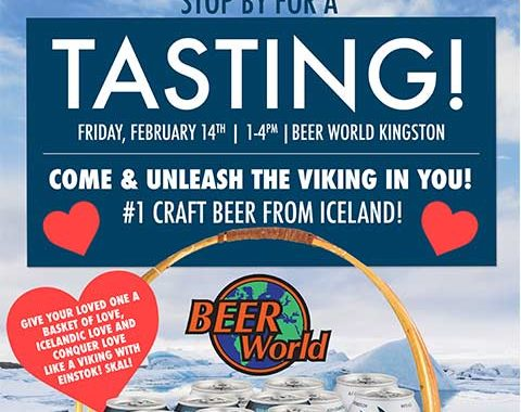 Icelandic Einstok Beer Tasting at Beer World