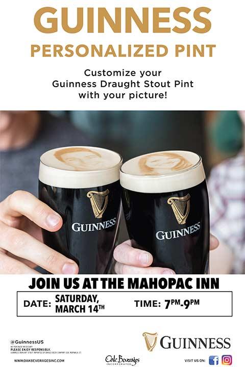 Guinness Stoutie Pint Night at Mahopac Inn