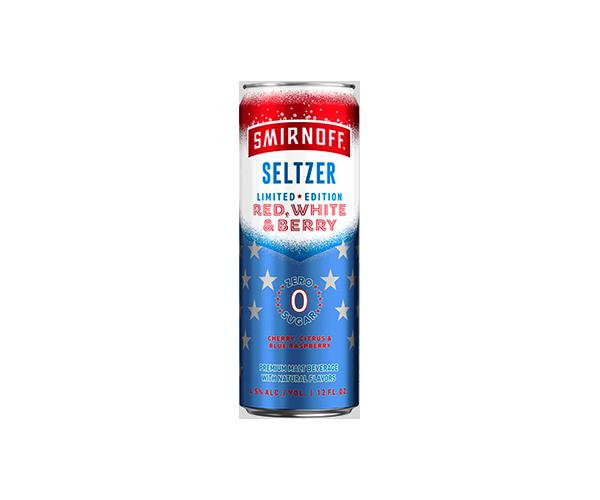 Smirnoff Seltzer Red White & Berry