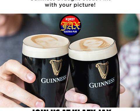 Klazy Jax Guinness Stoutie Pint Night