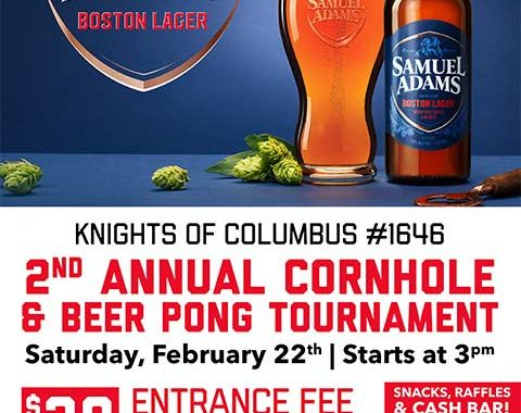 Knights of Columbus Sam Adams Beer Pong Tournament
