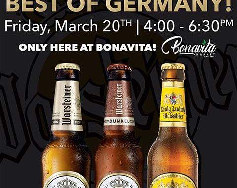 Bonavita Market Warsteiner Beer Tasting