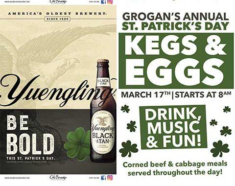 Grogan's Annual St. Patrick's Day Kegs & Eggs