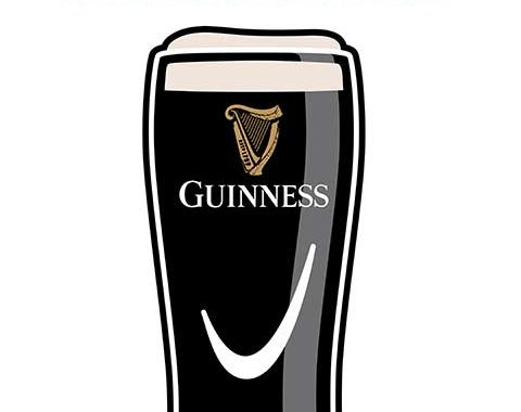 Urban Hamlet Guinness Pint Engraving