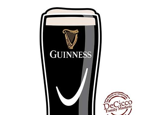 Decicco's of Brewster Guinness Glass Engraving