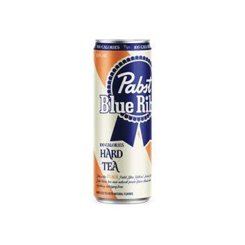 Pabst Blue Ribbon Hard Tea Peach