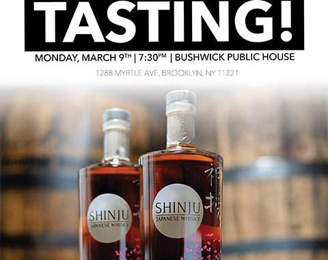 Shinju Tasting at Bushwick Public House