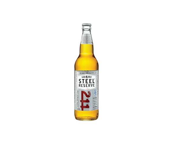 Steel Reserve 22oz bottle