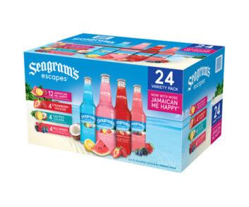 Seagrams Escapes 4 Flavor Variety