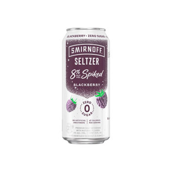Smirnoff Seltzer 8% Spiked Blackberry
