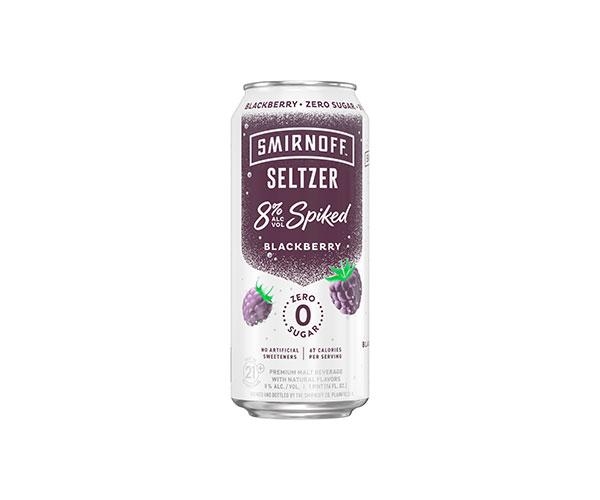 Smirnoff Seltzer 8% Spiked Blackberry