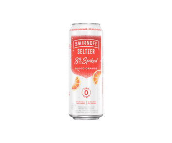 Smirnoff Seltzer 8% Spiked Blood Orange