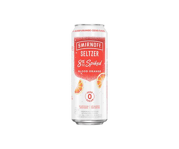 Smirnoff Seltzer 8% Spiked Blood Orange