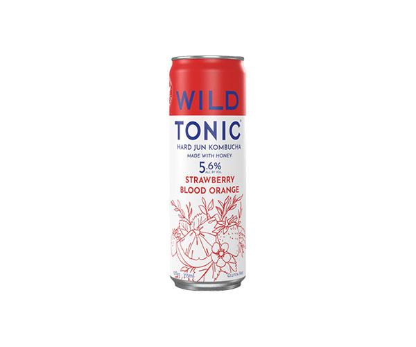 Wild Tonic Strawberry Blood Orange