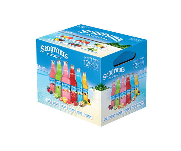 Seagrams Escapes Variety Pack Bottle