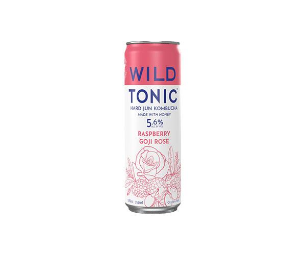 Wild Tonic Raspberry Goji Rose