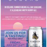 Beer World Liberty Einstok Tasting