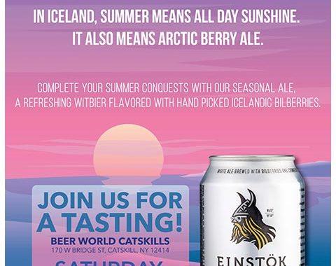 Beer World Catskill Einstok Tasting