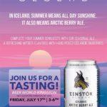 Beer World Kingston Einstok Tasting