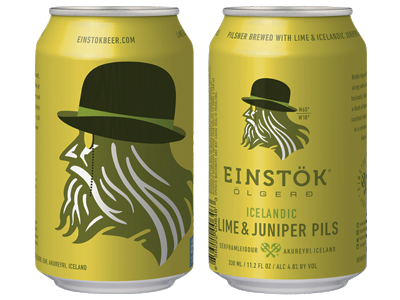 Einstok Icelandic Lime and Juniper Pils
