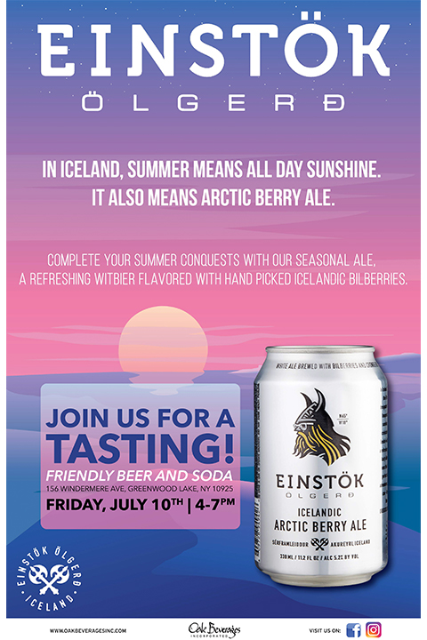 Friendly Beer and Soda Einstok Tasting