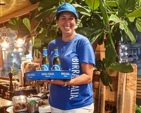 Birra Italia Happy Hour at Manetta's