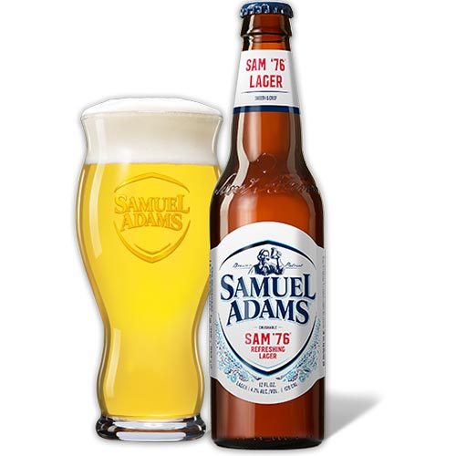Samuel Adams Sam '76 Lager and Ale