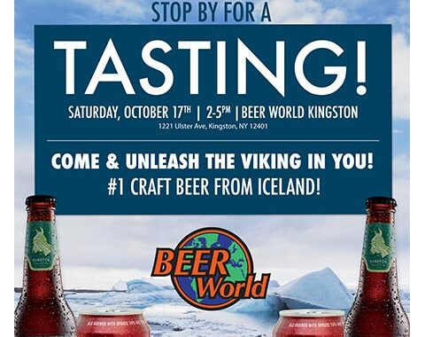 Beer World Kingston Winter Einstok Tasting