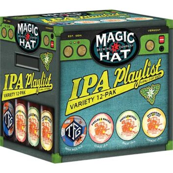 Magic Hat IPA Playlist Variety Pak
