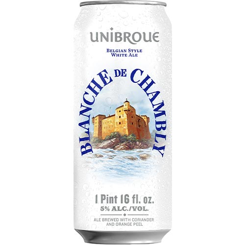 Unibroue Blanche de Chambly Can