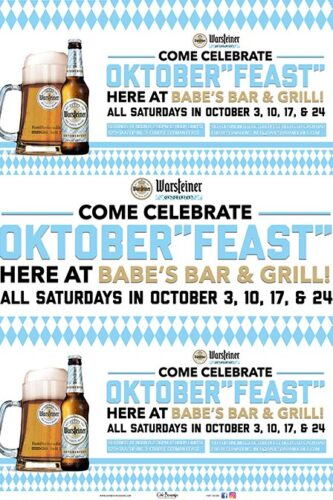 Babes Bar and Grill Warsteiner Oktoberfest