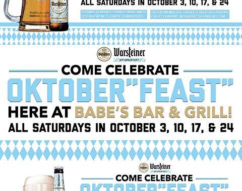 Babes Bar and Grill Warsteiner Oktoberfest