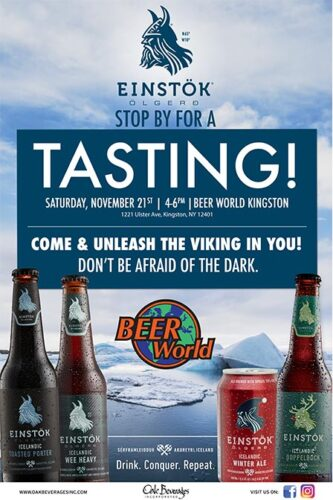 Winter Einstok Tasting at Beer World