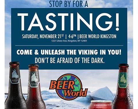 Winter Einstok Tasting at Beer World
