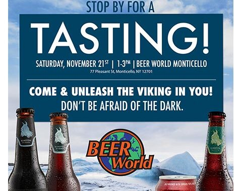 Einstok Tasting at Beer World Monticello