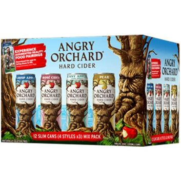 Angry Orchard Slim Can Mix Pack