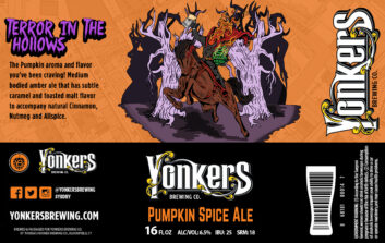 Yonkers Brewery Terror in the Hollows the Hallow
